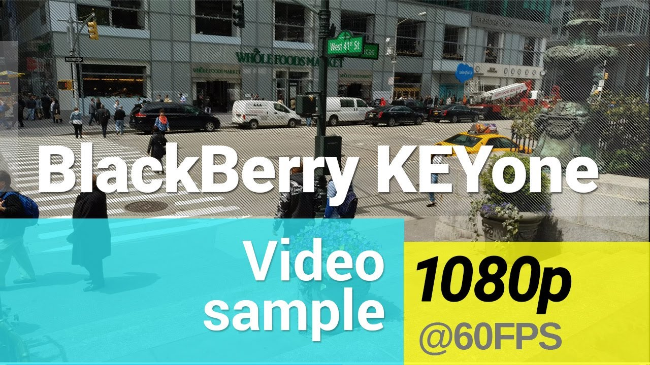 BlackBerry KEYone 1080p @60fps video sample - YouTube
