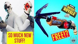 NEW Fortnite Wildcard Set Back bling & Glider! High stakes free items! High stakes event explained!