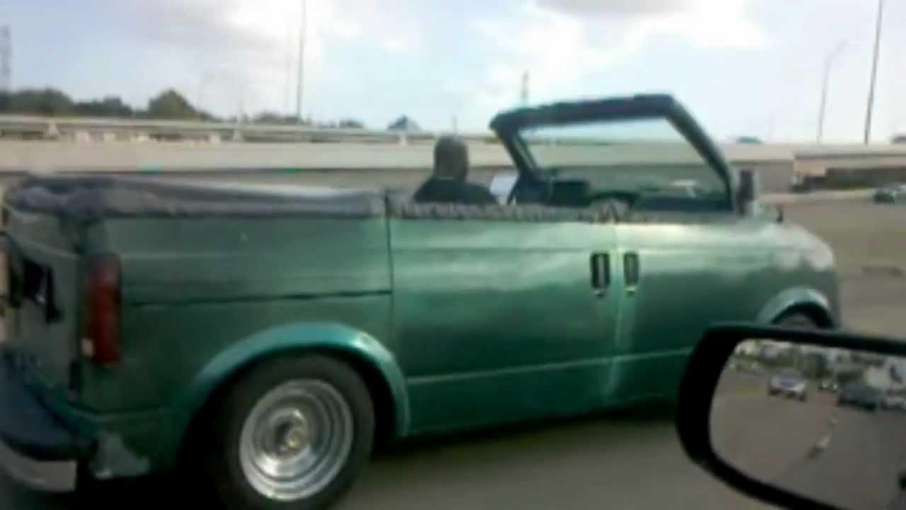 Swag Wagon Van Turned Into A Convertible
