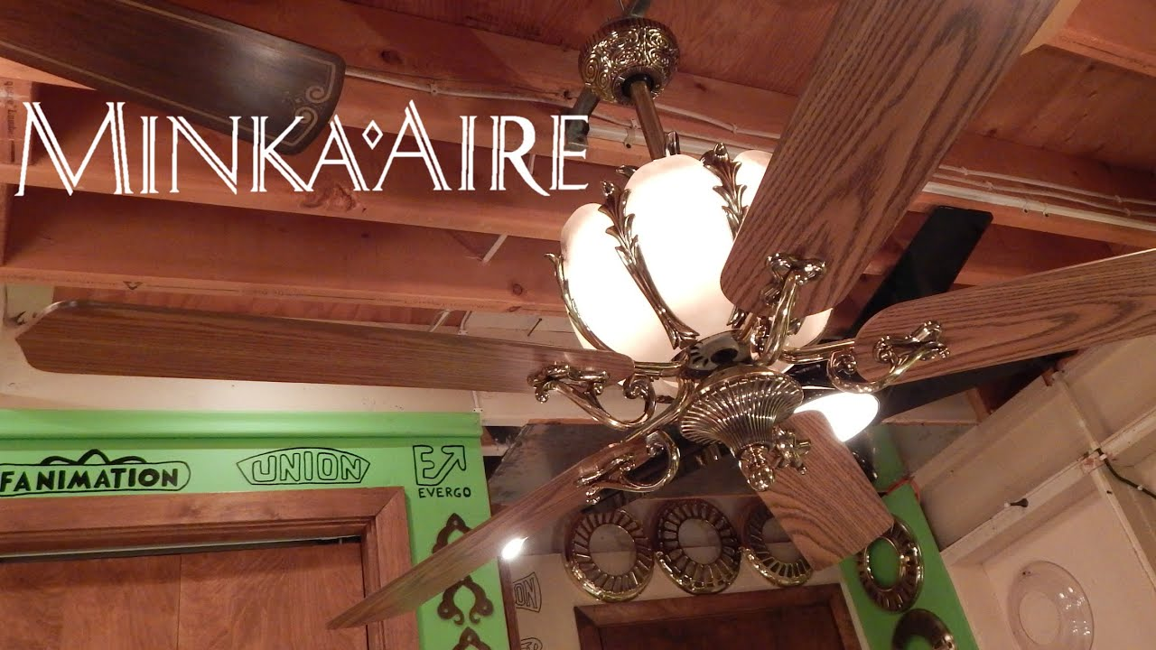 Minka Aire Corinthian Ceiling Fan - YouTube