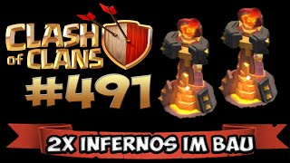 INFERNOS IM BAU :o ★ CLASH OF CLANS #491 ★ Let's Play COC ★ German Deutsch HD ★