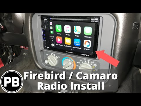 1993 – 2002 Pontiac Firebird / Camaro Stereo Install