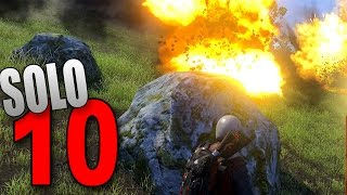 H1Z1 King of the Kill Solo #10 - DODGING BOMBS!