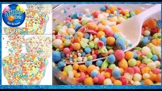 Dippin' Dots Ice Cream! Banana Split, Rainbow Ice, & Cherry With Poppin' Rocks!