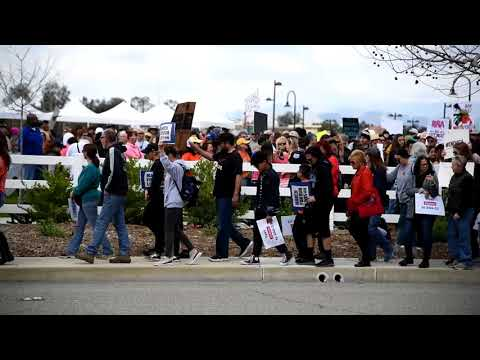 March for Our Lives Santa Clarita - March 24, 2018 - Santa Clarita, CA