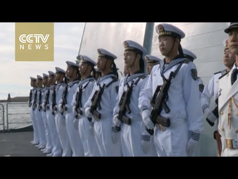 Chinese naval fleet visits Cape Town