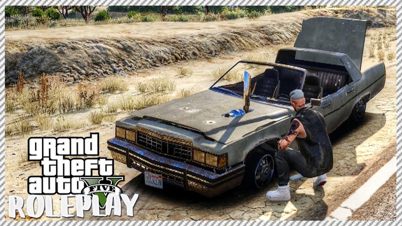 GTA 5 ROLEPLAY - The $200 Junkyard Junker Car   Ep. 23 Civ - YouTube