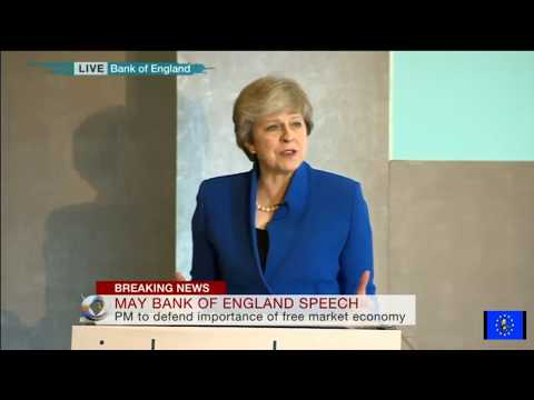 Theresa May on capitalism: Crisis what crisis?