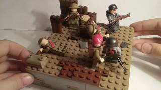 Лего самоделка #22 на тему Вторая Мировая (Бойня по британске)