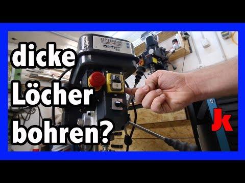 Optimum B20 die Bohrmaschine für richtige Löcher!