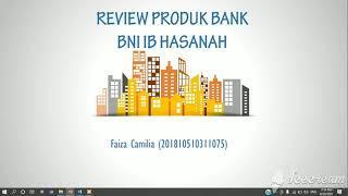 Review Produk Bank Bni Ib Hasanah Youtube