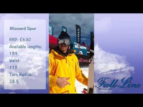 Fall-Line ski review,