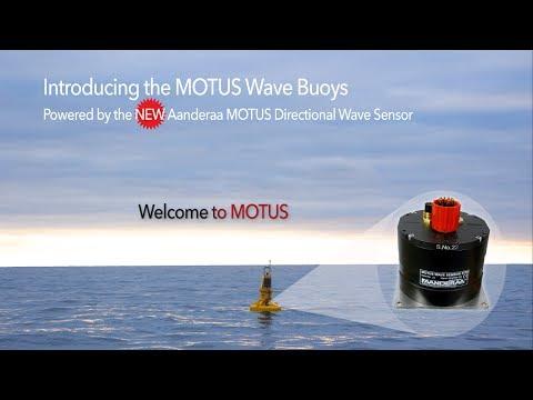 Aanderaa Webinar | MOTUS Wave Buoys | Powered by MOTUS Directional Wave Sensor