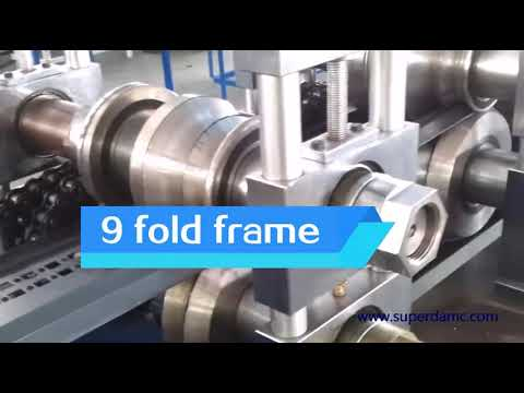 Electric Cabinet Frame 9 Fold Profiles Metal Forming ...
