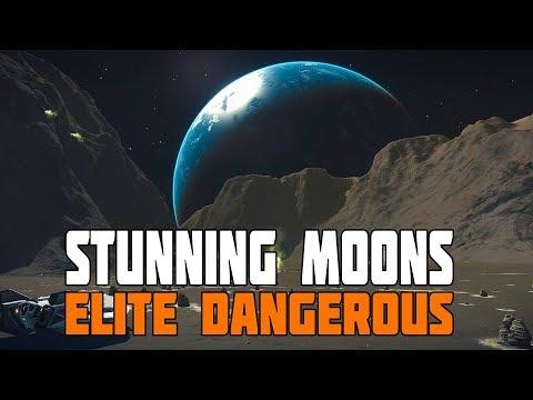 Elite Dangerous Disy  New Moon  The World built for TimeLapse