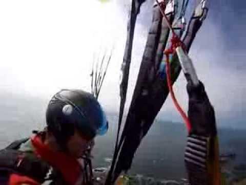 paragliding in Guernsey