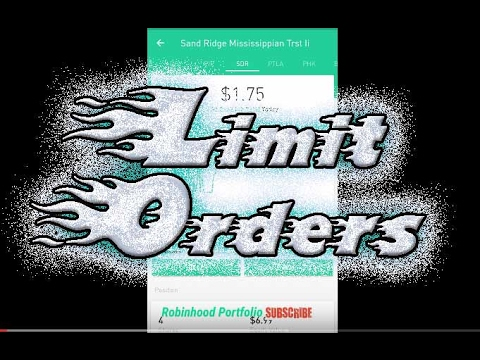 Robinhood APP LIMIT BUY And LIMIT SELL Orders For DAY TRADING Beauteous Robinhood Pattern Day Trader
