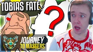 FACING TOBIAS FATE'S NEW ONE-TRICK..ITS OP WTF?!? Journey To Masters | League of Legends