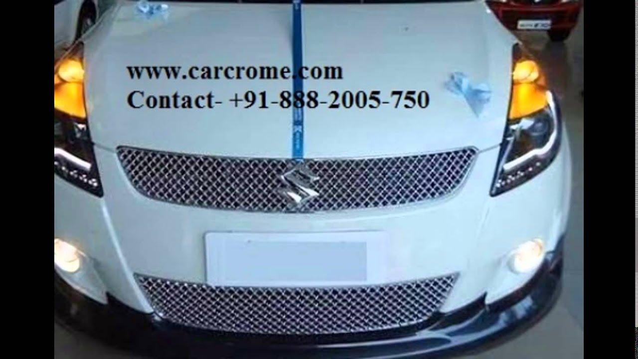 Swift accessories - Carcrome all car accessories delhi india - YouTube