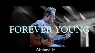 FOREVER YOUNG (Alphaville) - fingerstyle guitar cover by soYmartino