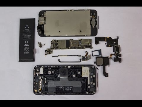 IPhone 5 ПОЛНЫЙ РАЗБОР