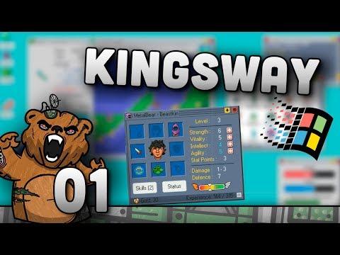 Sistema operacional de batalha! | Kingsway #01 - Gameplay Português PT-BR