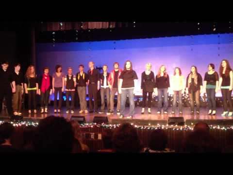 Mount Vernon High School 2012 Forum Show Senior Ensemble performance Saturday March 17.