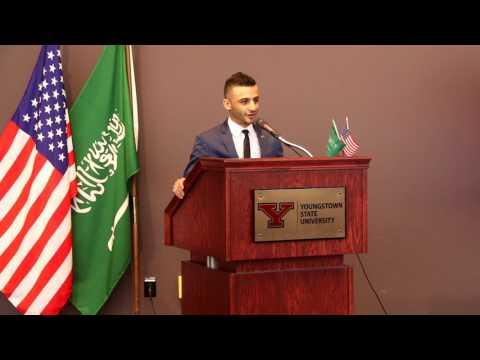 The First Saudi Arabian Cultural Event (2017) at Youngstown State University