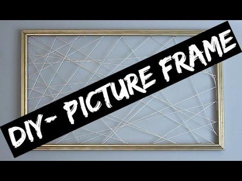 DIY Picture Frame (BONUS)- Twine