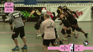 Roller Derby: WFTDA 2012 East Region Playoffs - Steel City vs DC