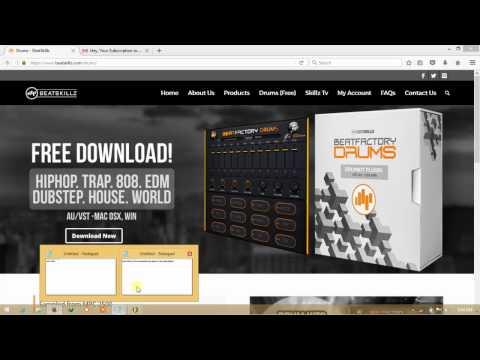 How to download and install vst instrument plugins in FL studio - beatfactory drumz