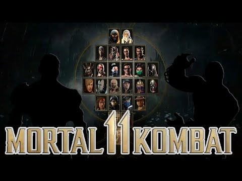 Mortal Kombat  Full Roster Revealed