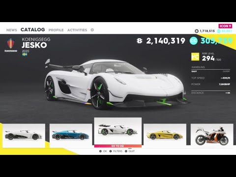 The Crew 2 2020   FULL CAR LIST   ALL CARS   ALL VEHICLES (Cars, Bikes, Planes And Boats)