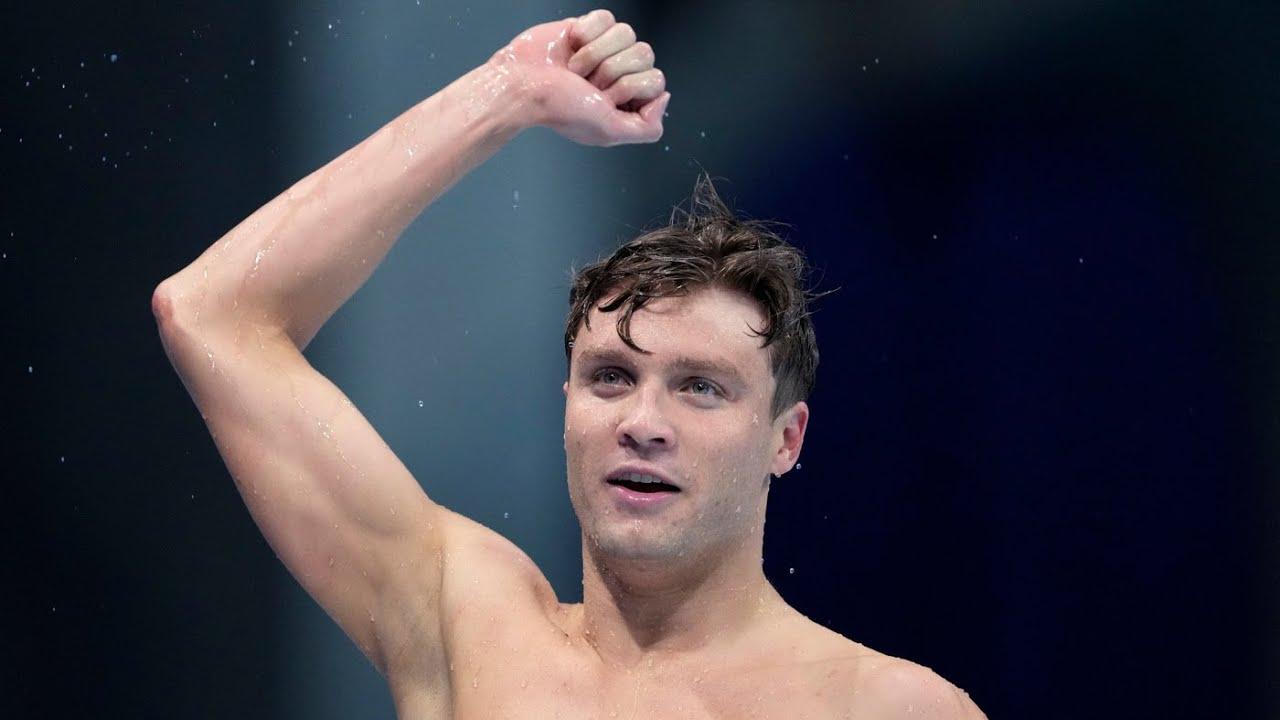 U.S. Swimmer Bobby Finke Makes Epic Comeback To Win The ...