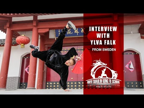 Interview with Ylva Falk from Sweden - Learn Martial Arts in China