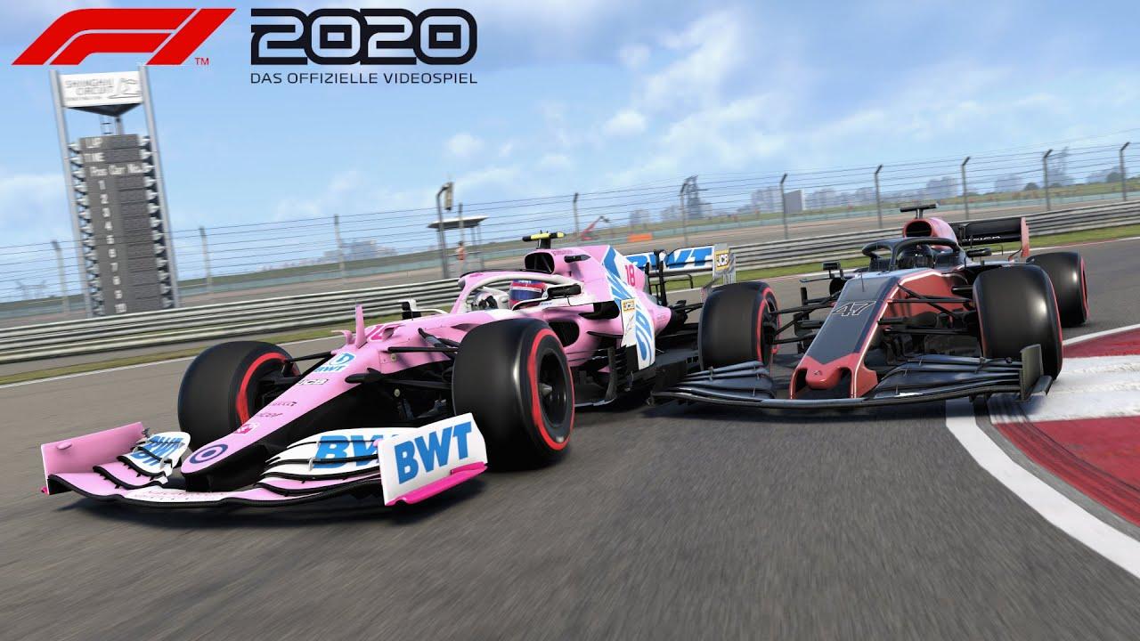 F1 2020 Karriere | S1E10 | [R] China | Regen - Fluch oder Segen?