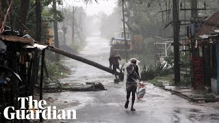Super-cyclone Amphan batters India and Bangladesh