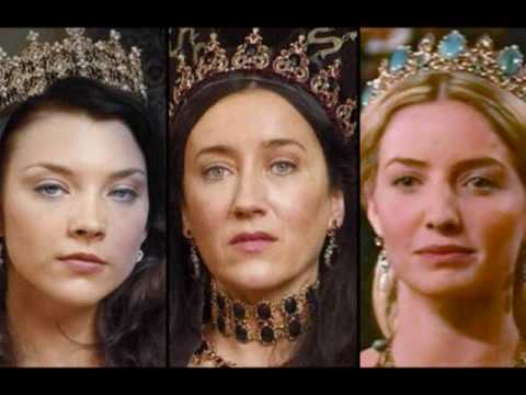 Queens: Katherine of Aragon, Anne Boleyn, Jane Seymour