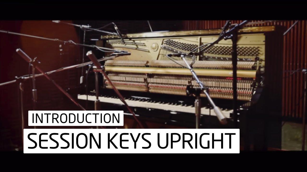 Session Keys Upright - Kontakt Upright Piano Instrument