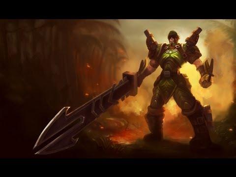 LOL | Skin Jarvan IV Comando / Commando Jarvan IV - YouTube