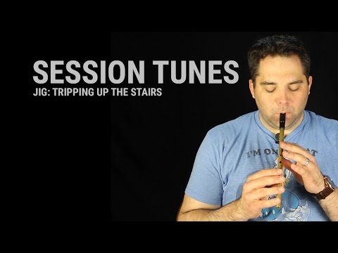 Tin Whistle Lesson - Tripping up the Stairs (Jig)