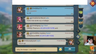 Lords Mobile - whack a mole, aka hoping someone is afk, lol