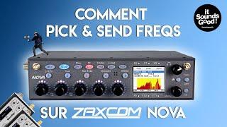FR / Zaxcom Nova Tutoriel 1: Comment scanner, choisir et envoyer vos fréquences aux émetteurs HF