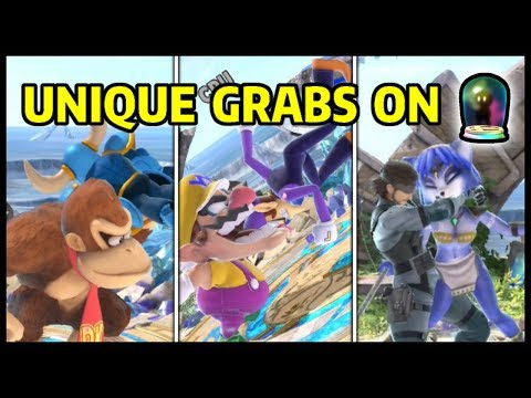 Cargo Throw Chomp and Snake&39;s Down Throw on all Assist Trophies  Super Smash Bros Ultimate