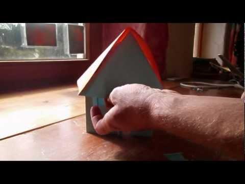 geldscheine falten haus origami geldgeschenk zum ric doovi. Black Bedroom Furniture Sets. Home Design Ideas