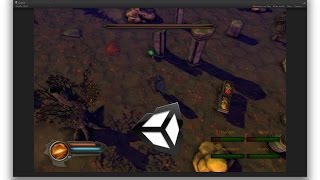 Unity4.6 Role Playing Game Tutorial - 1 : Click To Move