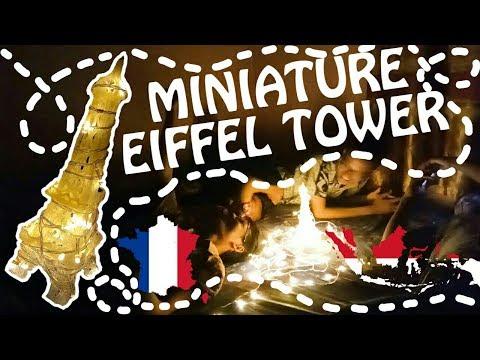 How to Make a Miniature Eiffel Tower