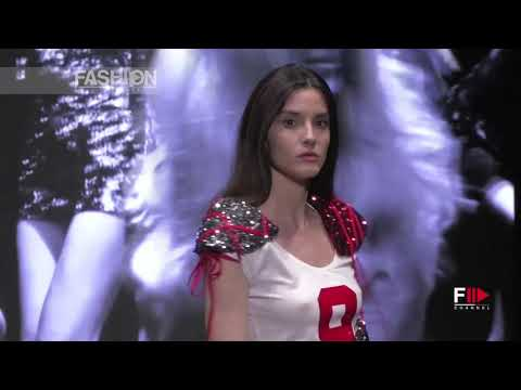 NANDO MUZI Wearing Sofia Alemani Montecarlo Fashion Week 2019 - Fashion Channel