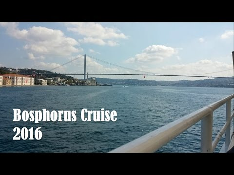 Bosphorus Cruise at Istanbul, Turkey 2016