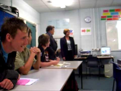 Colin Bamford surprise for Carol Hull